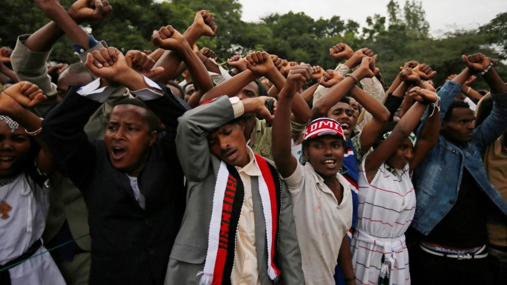Ethiopia in tumoil